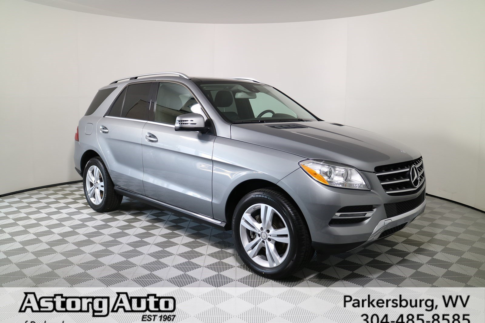 Certified pre owned 2015 mercedes benz m class ml 350 suv for Certified mercedes benz