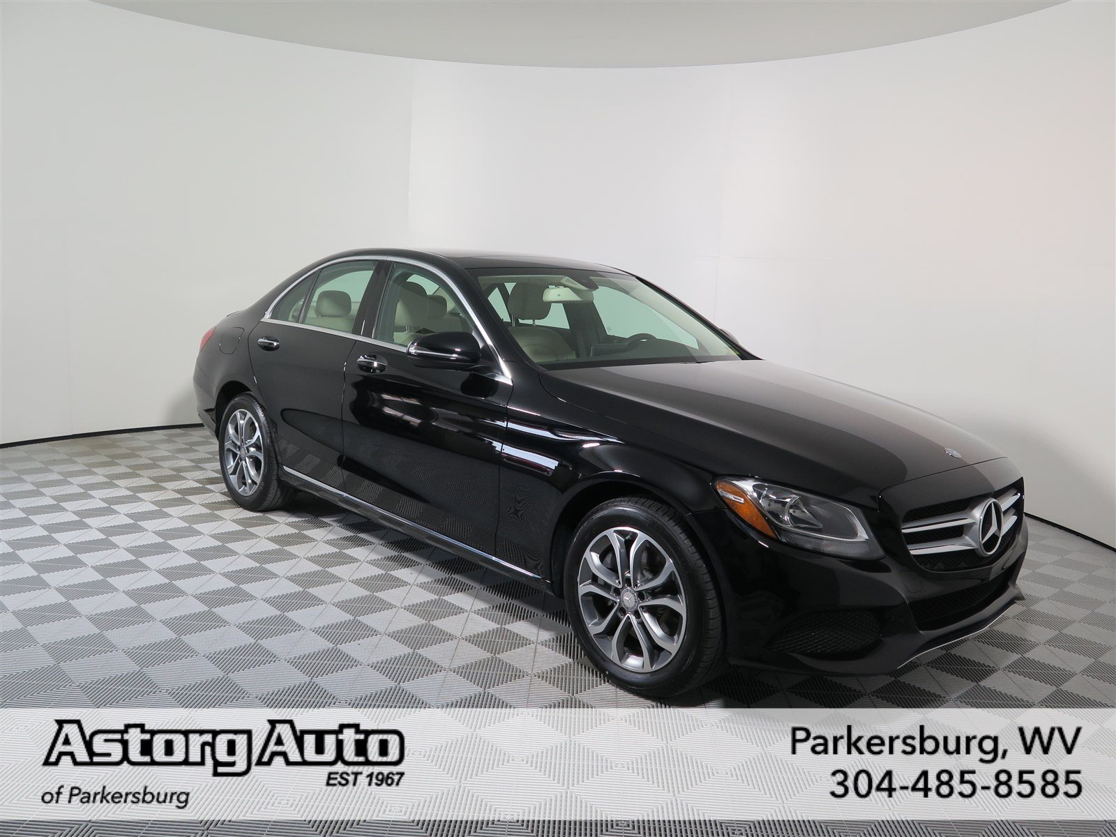 Certified pre owned 2016 mercedes benz c class c 300 sedan for Mercedes benz c class pre owned