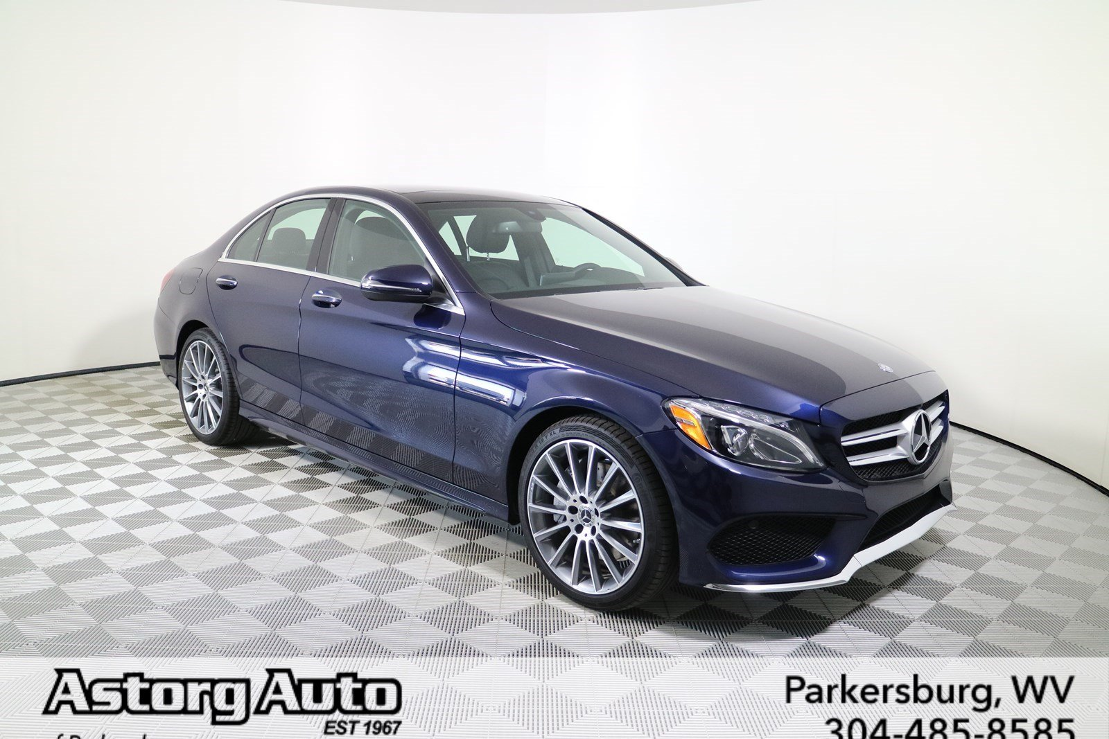 Pre owned 2017 mercedes benz c class c 300 sport sedan in for Pre owned mercedes benz s class