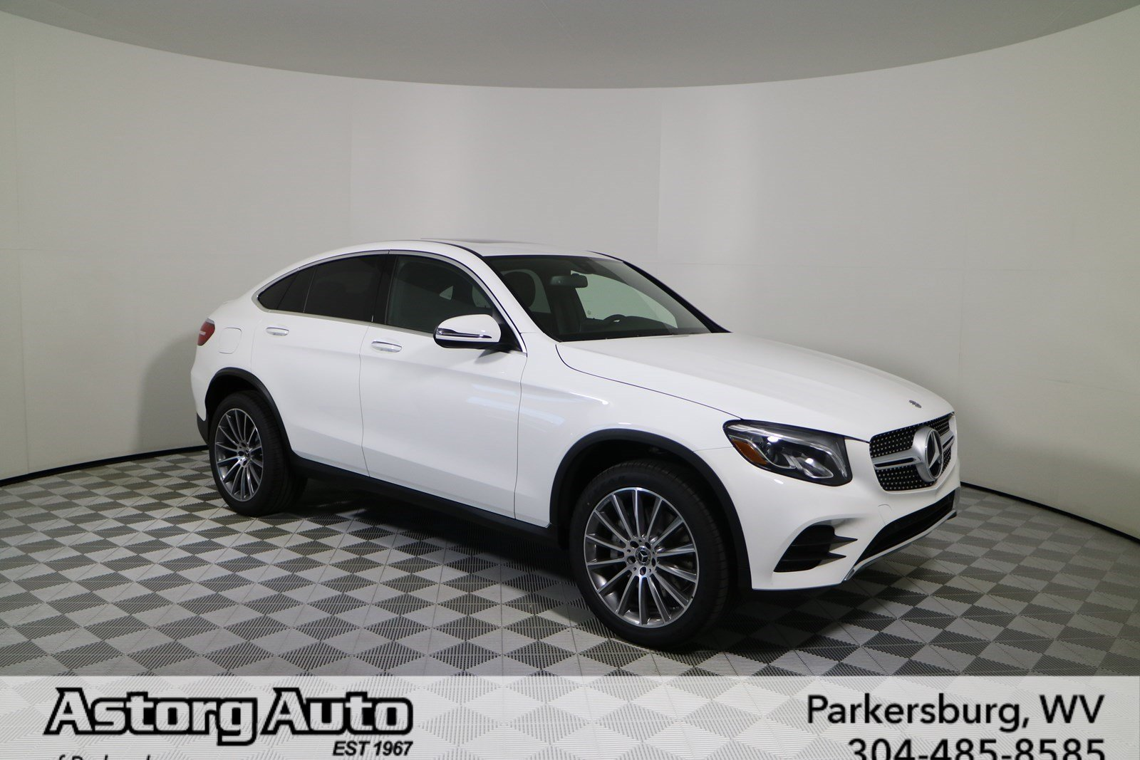 New 2018 mercedes benz glc glc 300 coupe in parkersburg for Mercedes benz 2018 glc 300