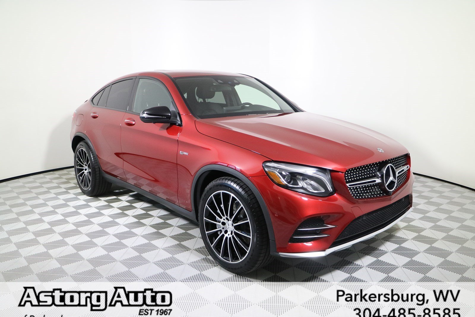 new 2017 mercedes benz glc glc 43 amg 4matic coupe coupe in parkersburg m5562 astorg motor. Black Bedroom Furniture Sets. Home Design Ideas