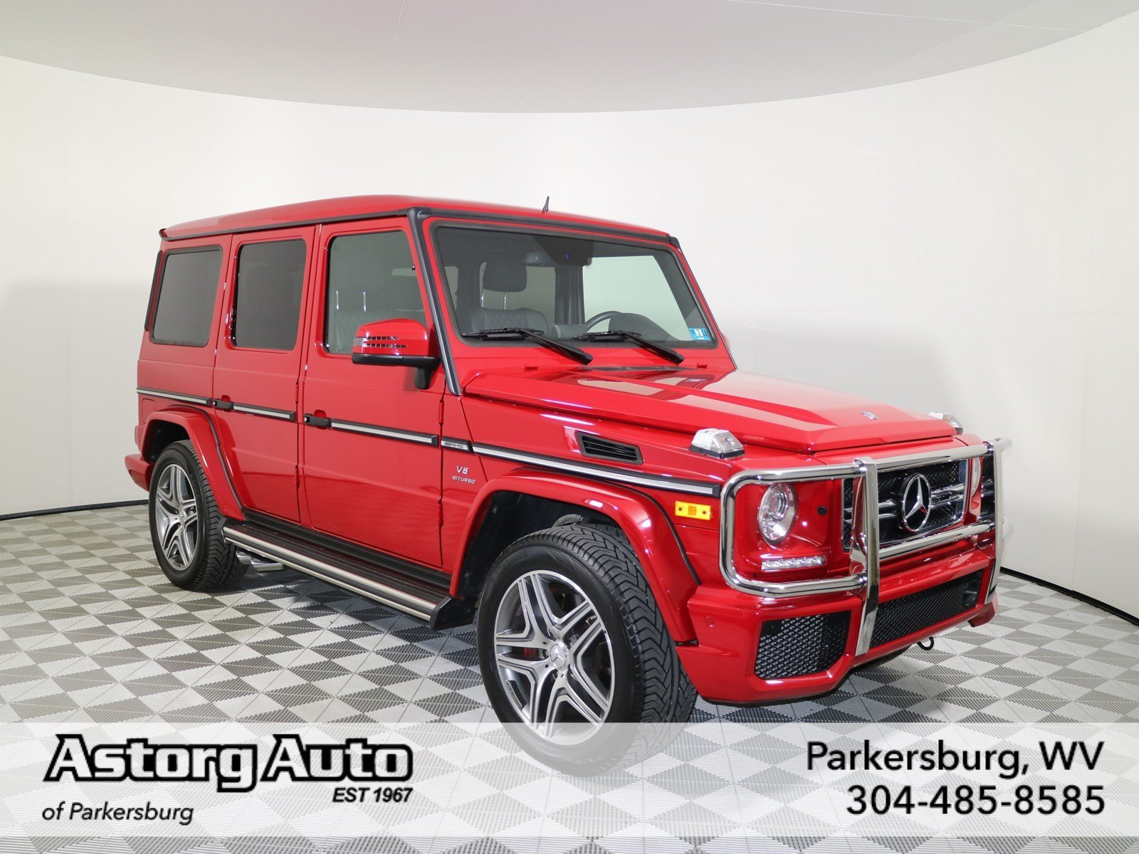 certified pre owned 2015 mercedes benz g class g 63 amg suv suv in parkersburg um1410 astorg. Black Bedroom Furniture Sets. Home Design Ideas