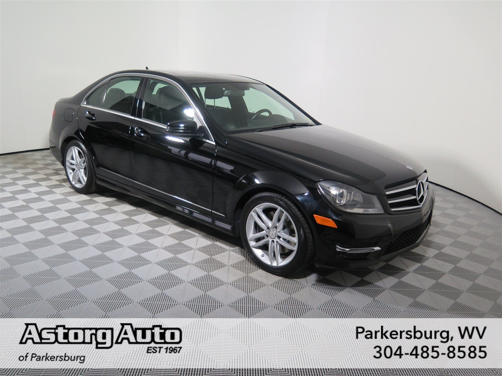Certified pre owned 2014 mercedes benz c class c 300 sport for Mercedes benz pre owned vehicles