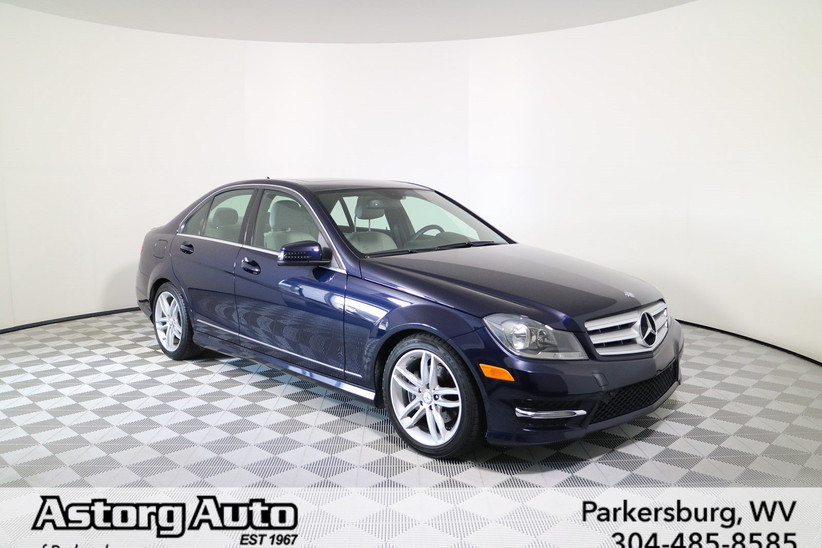 Certified pre owned 2012 mercedes benz c class c 300 sport for Mercedes benz c class pre owned