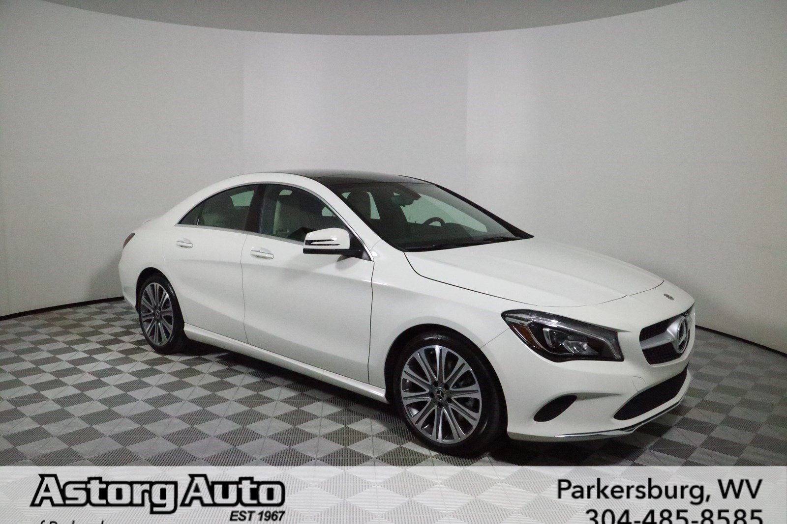 New 2018 mercedes benz cla cla 250 coupe in parkersburg for Mercedes benz cl 250 coupe