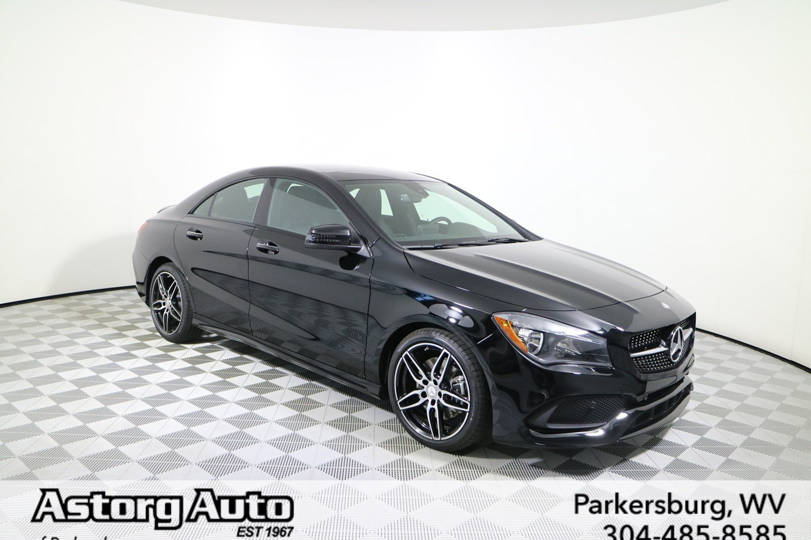 New 2018 mercedes benz cla cla 250 coupe in parkersburg for 2018 mercedes benz cla 250 coupe